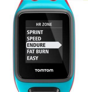 Zonas entrenamiento reloj Tom Tom Runner 2