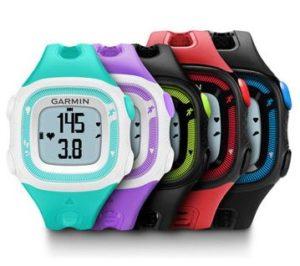 Colores pulsómetro Garmin Forerunner 15