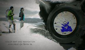 Mapas topográficos Garmin Fenix 5