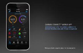 Garmin Connect pulsera actividad Vivosmart