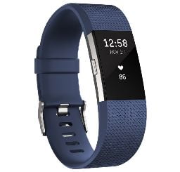 Comprar pulsera azul Fitbit Cahrge 2