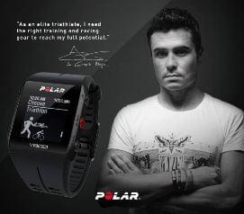 Reloj triatlon Polar V800 Edicion Gomez Noya