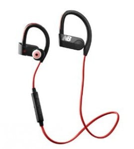 detalle auriculares deportivos new balance paceiq