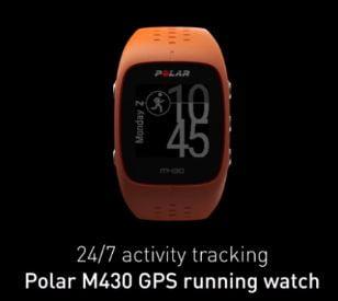 Reloj Polar M430 seguimiento actividad