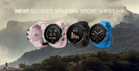 Modelos colores suunto spartan sport wrist hr
