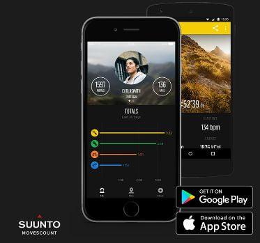 App Movescount Suunto Spartan HR