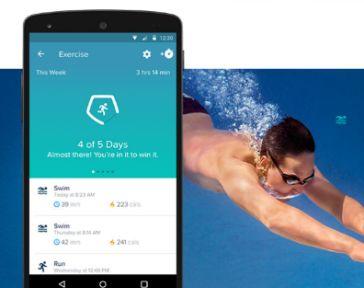 fitbit flex 2 nadar resistente agua