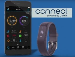 Garmin Connect mobile vivosmart 3