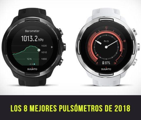los mejores relojes pulsometro de 2018