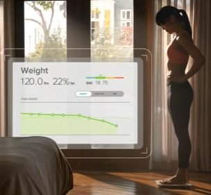 smart scale fitbit aria