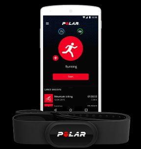 smartphone app Polar Beat