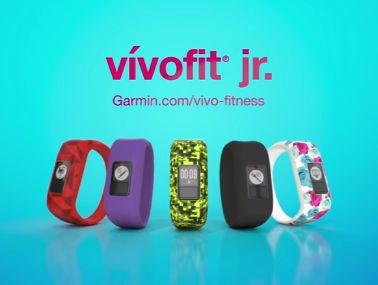 monitor de actividad para niños garmin vivofit jr