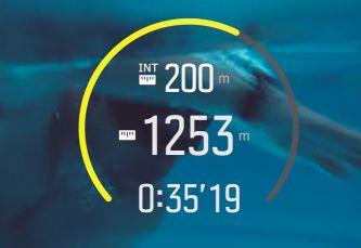 modo natacion suunto spartan wrist trainer