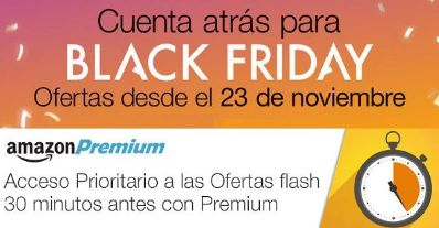 Ofertas Prime durante el Black Friday