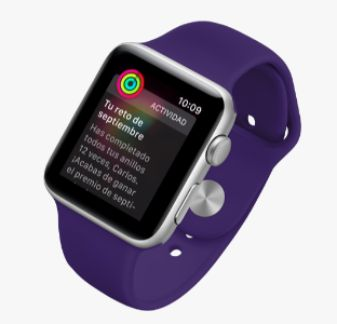 Apple Watch Series 3 entrenador personal