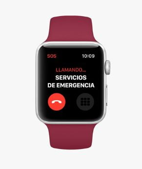 Apple Watch Series 3 Servicio Emergencia