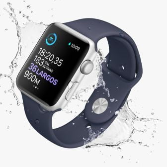 Reloj Apple Series piscina