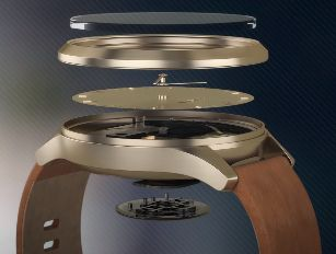 Garmin Vivomove HR detalle modelo