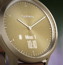 Garmin Vivomove HR detalle pantalla tactil