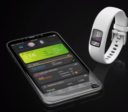Garmin Vivofit 4 app para smartphone
