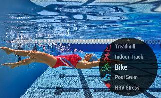 Garmin Forerunner 645 natacion en piscina
