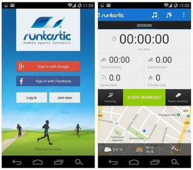 runtastic app para correr