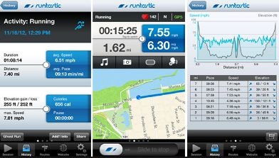 runtastic sports app