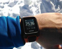 pulsometro para actividades de nieve