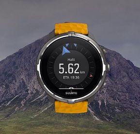 pulsometro para caminar por la montaña