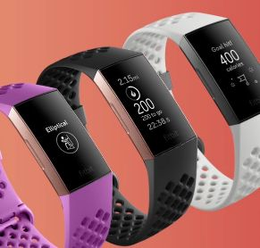 fitbit charge 3 boton inductivo