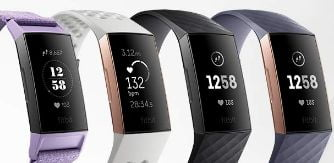 pulsera fitness fitbit charge 3