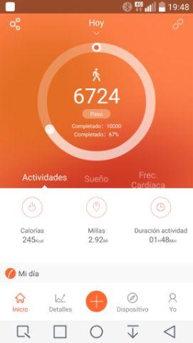 Veryfitpro para smartphone