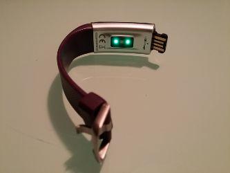 cuanto dura la batería de la smartband lintelek