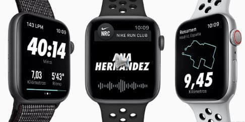 nike apple watch series 4