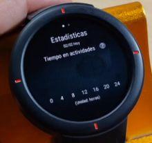 Reloj Amazfit Verge en español
