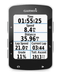 Garmin Edge 520 Plus Pantallas de datos