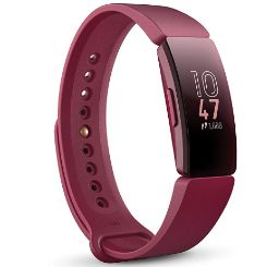 fitbit inspire hr smartband running