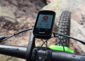 hacer mountain bike con el garmin edge 830