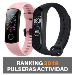 Mejores pulseras actividad 2019