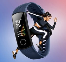 correr con la honor band 5