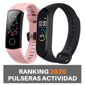 ranking pulseras de actividad 2020