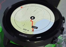 navegacion con mapas suunto 7