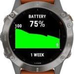 ahorro de bateria en el reloj