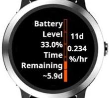 autonomia de la bateria del pulsometro