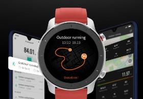 amazfit smartwatch gps