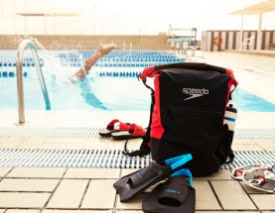 mochila de natacion