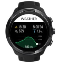 utilidad weather suunto