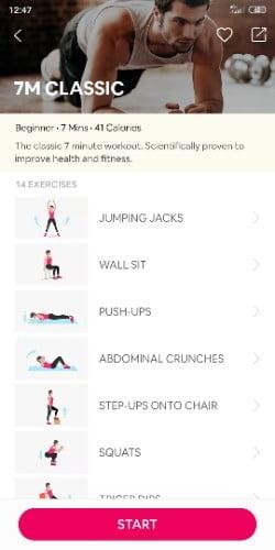 app para entrenar en casa