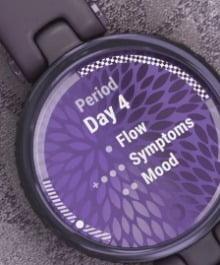 pulsómetro para mujer garmin lily