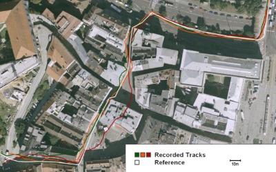 pulsómetro gps error medición en ciudad